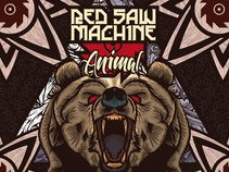 Red Saw Machine