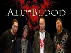Image for ALL FOR BLOOD