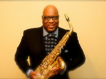 Saxophonist James Johnson