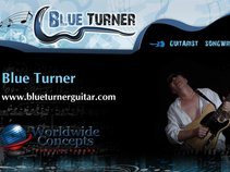 Blue Turner Guitar