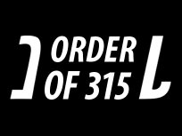 Image for Order Of 315