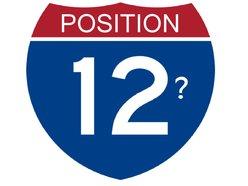 Position 12?