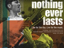 nothing ever lasts