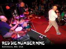 Red Die Number Nine
