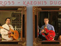 Ross/Kazonis Duo Project