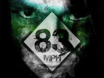 83 Mph (83 Miles Per Hour)