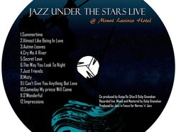 Image for 'jazz under the stars,live@Mountlavinia;