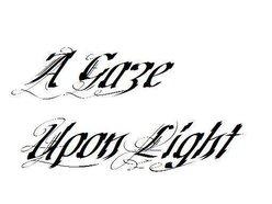 A Gaze Upon Light