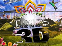 Flowers Music Emotion 3D