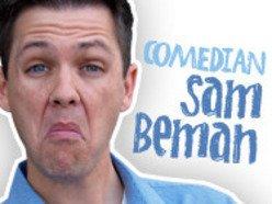 Comedian Sam Beman