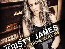 Kristy James