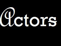 Image for Actors