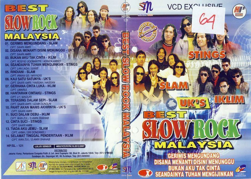 Video lagu 25 lagu slow rock terbaik malaysia 80 -90an terbaru 2018.