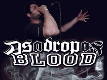 As a drop of blood