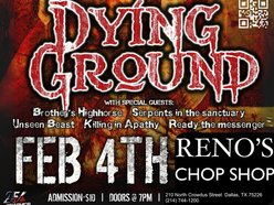 Image for Dying Ground