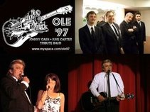 OLE 97 JOHNNY CASH JUNE CARTER TRIBUTE SHOW BAND
