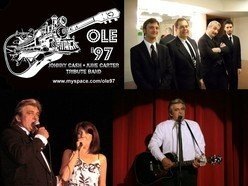 Image for OLE 97 JOHNNY CASH JUNE CARTER TRIBUTE SHOW BAND