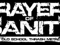PRAYERS OF SANITY