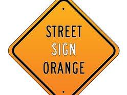 Image for Street Sign Orange