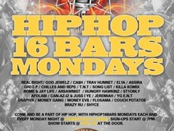 Image for Hiphop16bars Monday