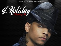 Image for J Holiday - Checking In