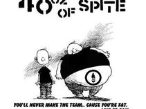 40oz of Spite - You'll Never Make The Team. Cause You're Fat.
