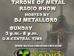 Image for Throne of Metal Radio Show w/DJ Metallord