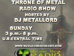 Image for Throne of Metal Radio Show w/DJ Metallord