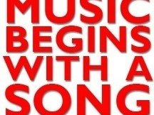 Image for Music Begins With A Song