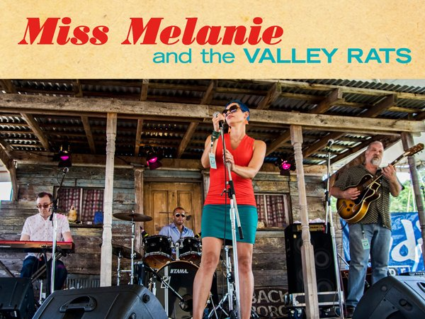Image for Miss Melanie & the Valley Rats