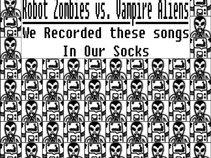 Robot Zombies vs Vampire Aliens