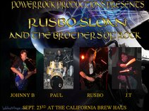 RUSBO SLOAN AND THE BROTHERS OF ROCK