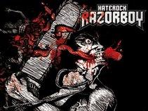 RAZORBOY HATE ROCK