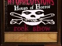Atomicvisions House of Horrors rock show