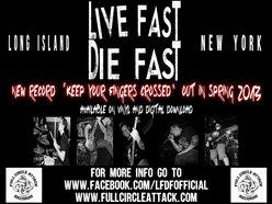 LIVE FAST DIE FAST
