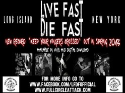 Image for LIVE FAST DIE FAST