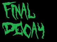 Image for final decay