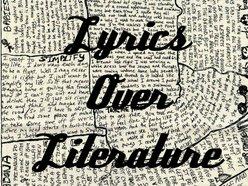Image for Lyrics Over Literature