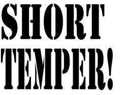 Image for short temper!