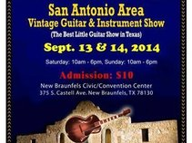 San Antonio Vintage Guitar and Instrument Show
