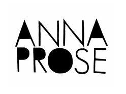 Image for Anna Prose