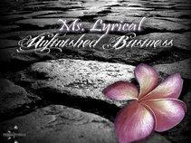 Ms. Lyrical