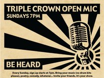 Triple Crown Open Mic