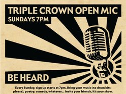 Image for Triple Crown Open Mic