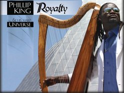 Image for Phillip King and his harp Universe
