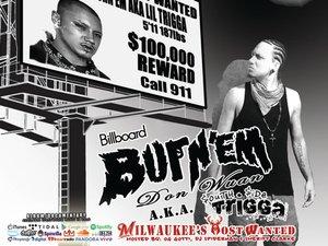 Billboard Burnem Don Wuan aka $outh $ide Trigga