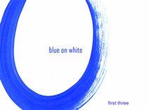 Blue On White
