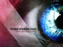 When Words Fail