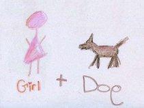 Girl Plus Dog