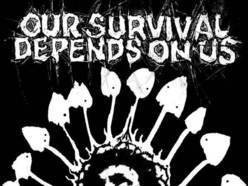 Image for OUR SURVIVAL DEPENDS ON US